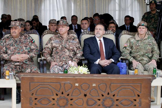 U S  delivers helicopters to bolster Jordan's border defenses - Reuters