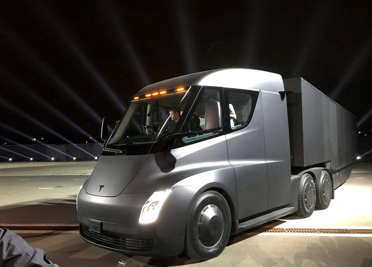 Exclusive How Tesla S First Truck Charging Stations Will Be Built