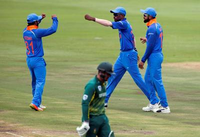 Cricket: India vs South Africa ODI