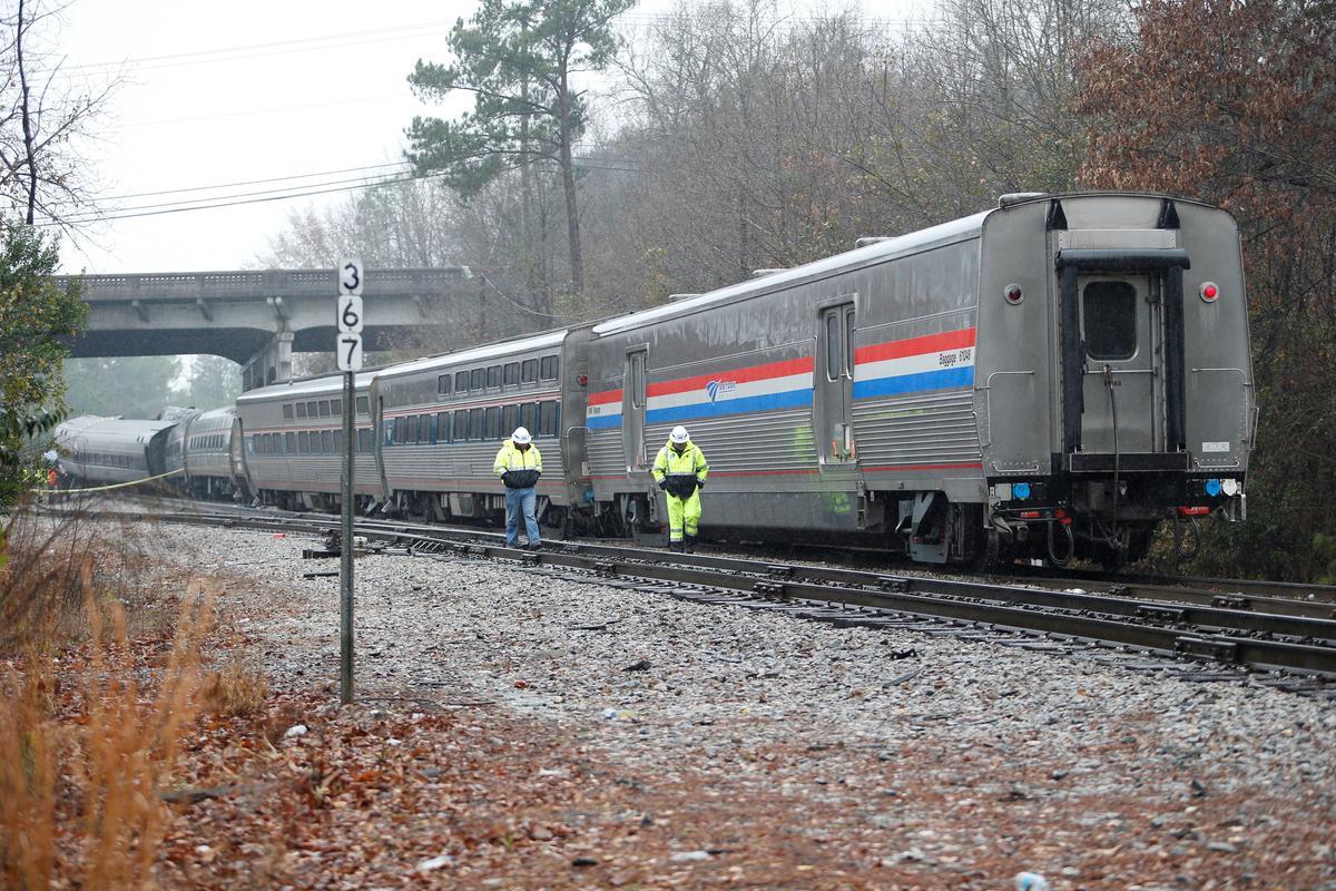 Locked track switch blamed in fatal South Carolina Amtrak ...