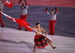 Olympic opening ceremony flag bearers
