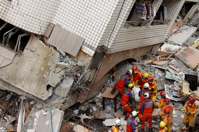 Earthquake rocks Taiwan tourist city