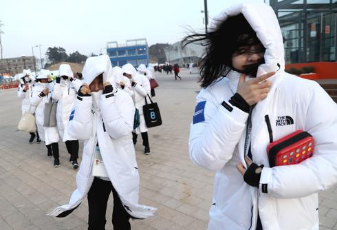 Extreme winds in Pyeongchang