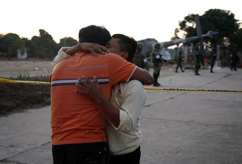 Mexico helicopter crashes in wake of earthquake
