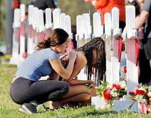 Mourning after Florida mass shooting