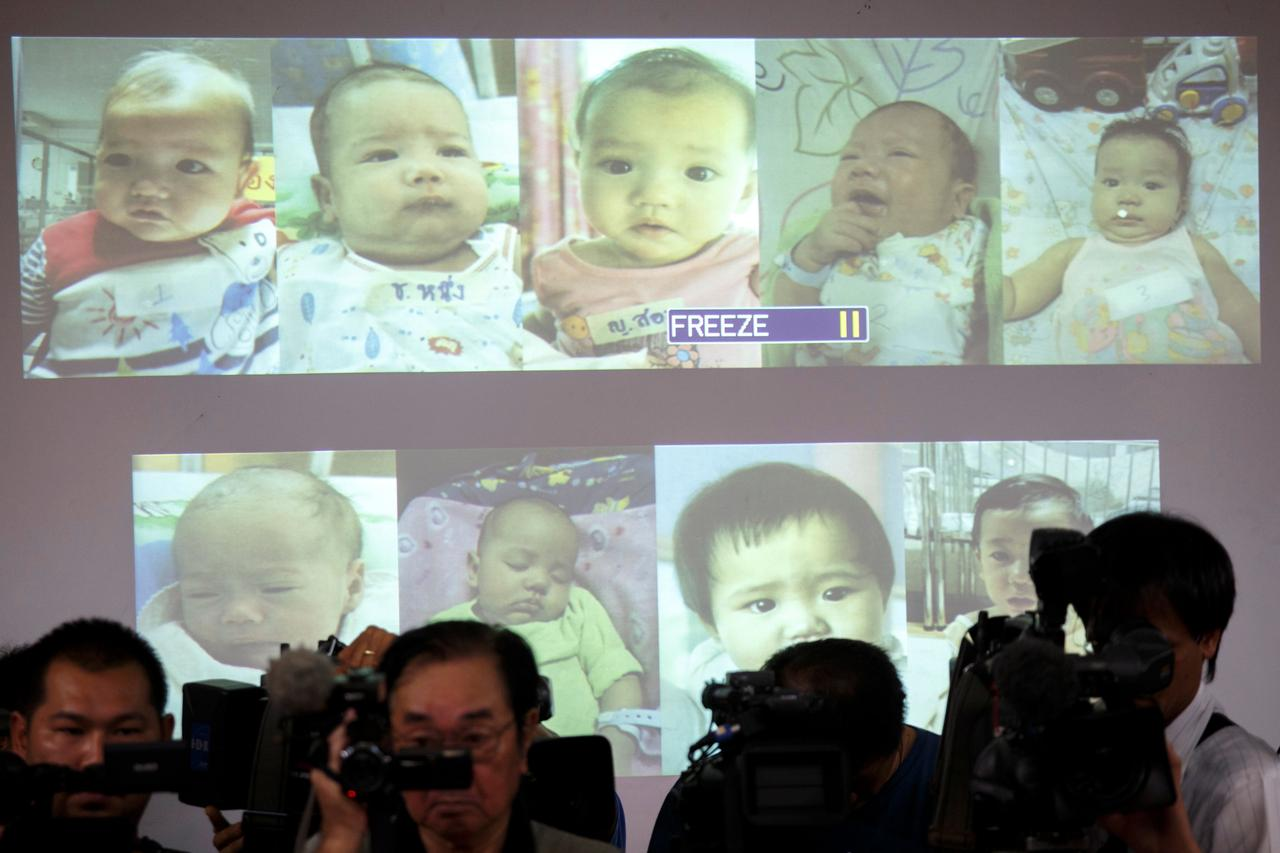 Image result for thai court grants custody of 13 children to japanese father