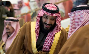 FILE PHOTO: Saudi Arabia's Crown Prince Mohammed Bin Salman attends the...
