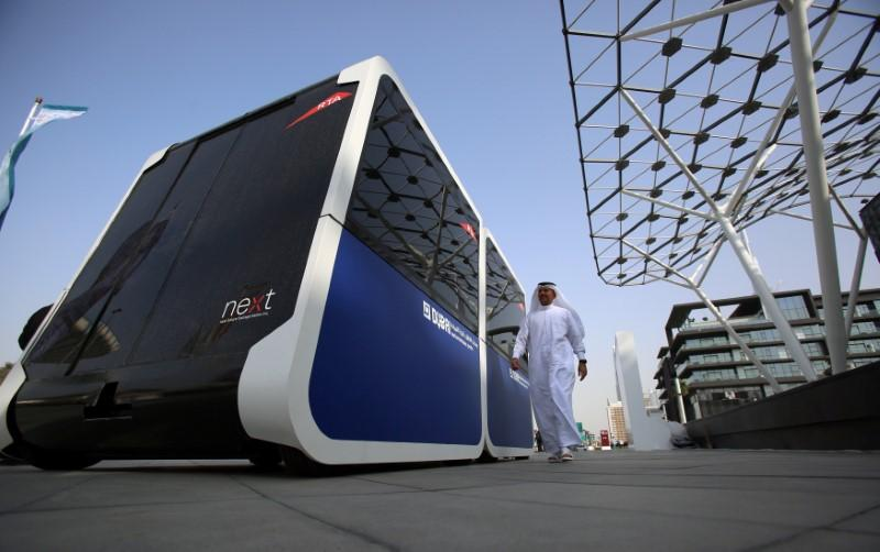 Dubai tests autonomous pods in drive for smart city - Reuters