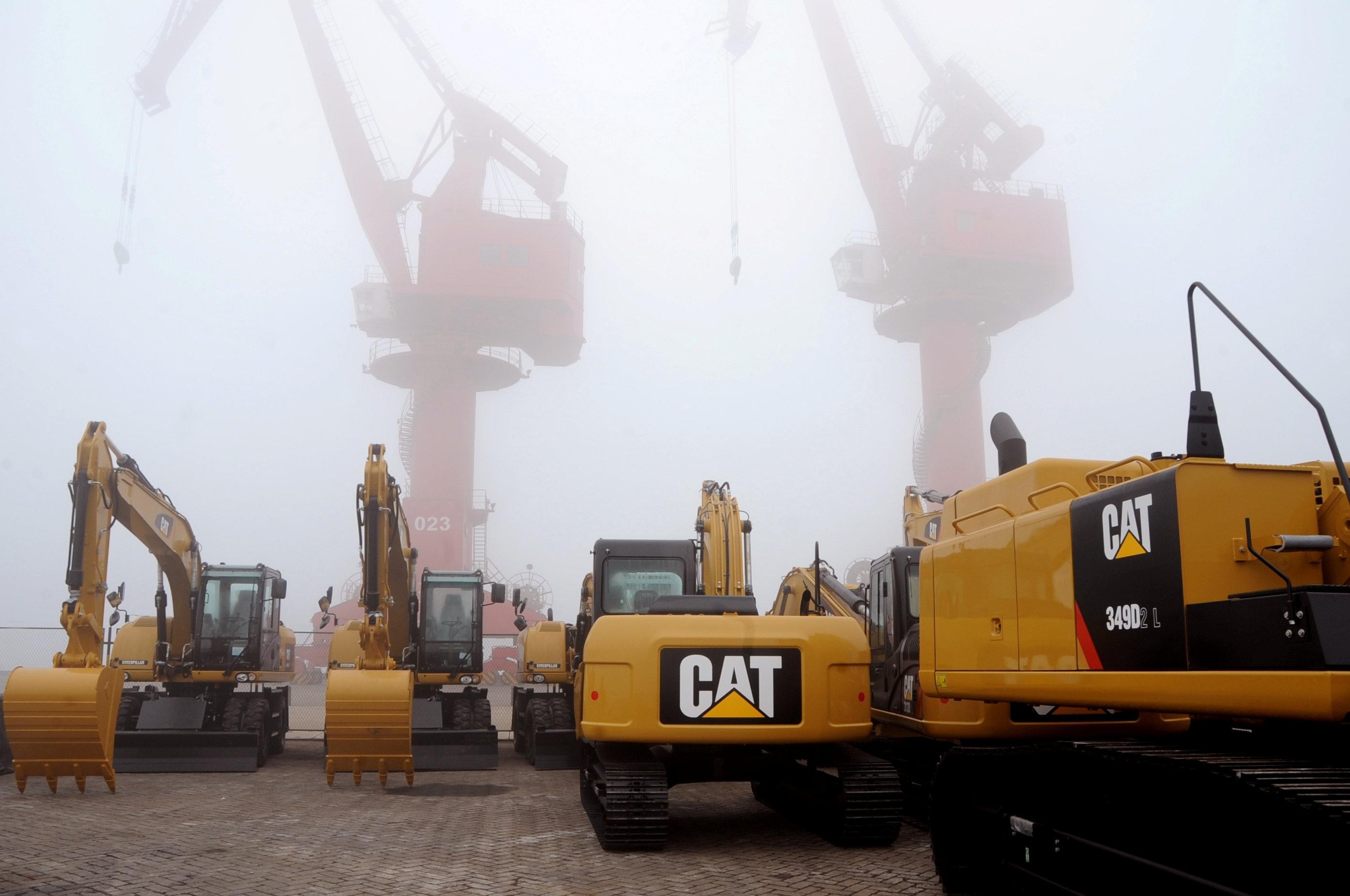 Caterpillar drives sales on China's new Silk Road - Reuters