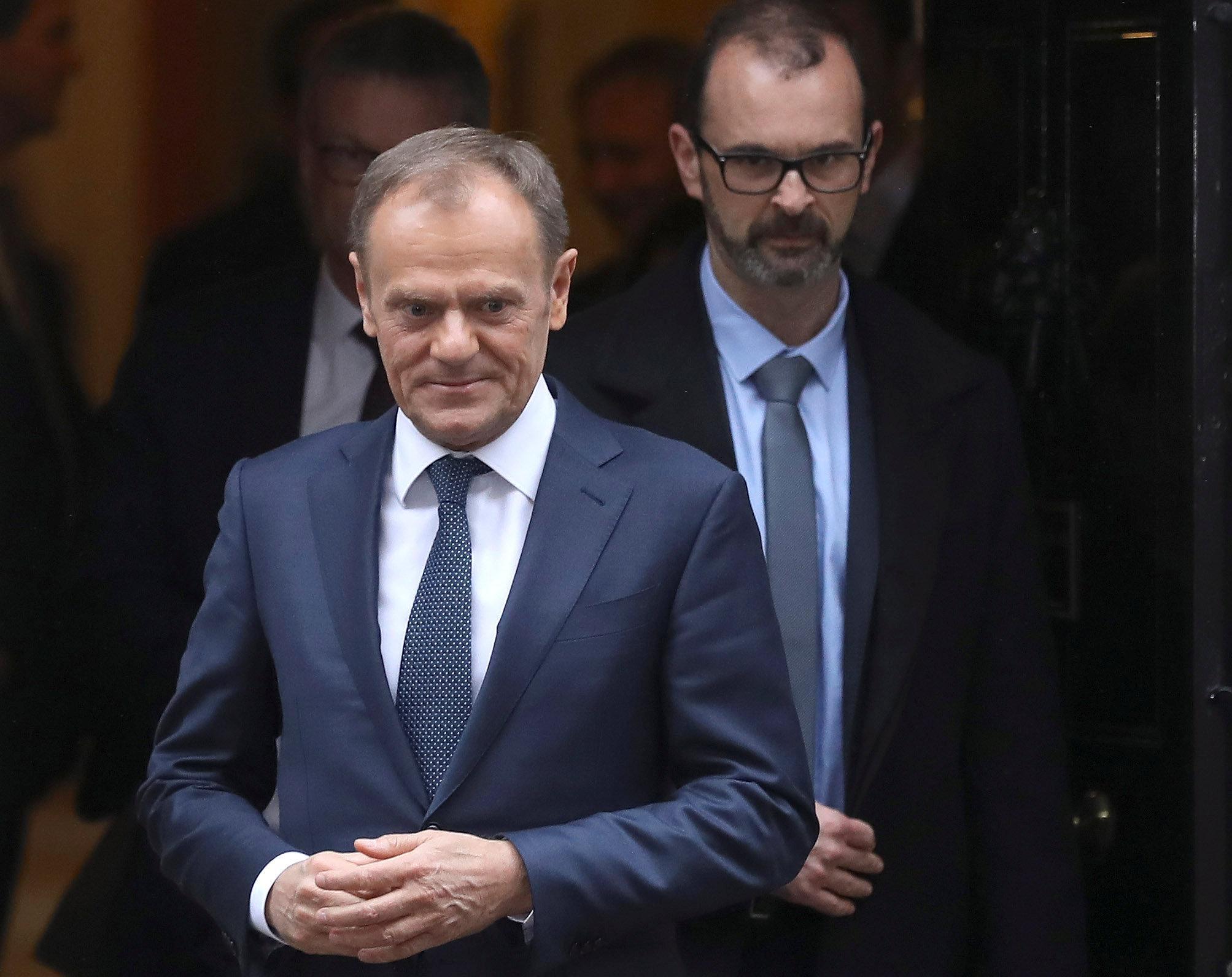 Berdagang dengan Inggris setelah Brexit tidak akan lebih mudah - Tusk Uni Eropa