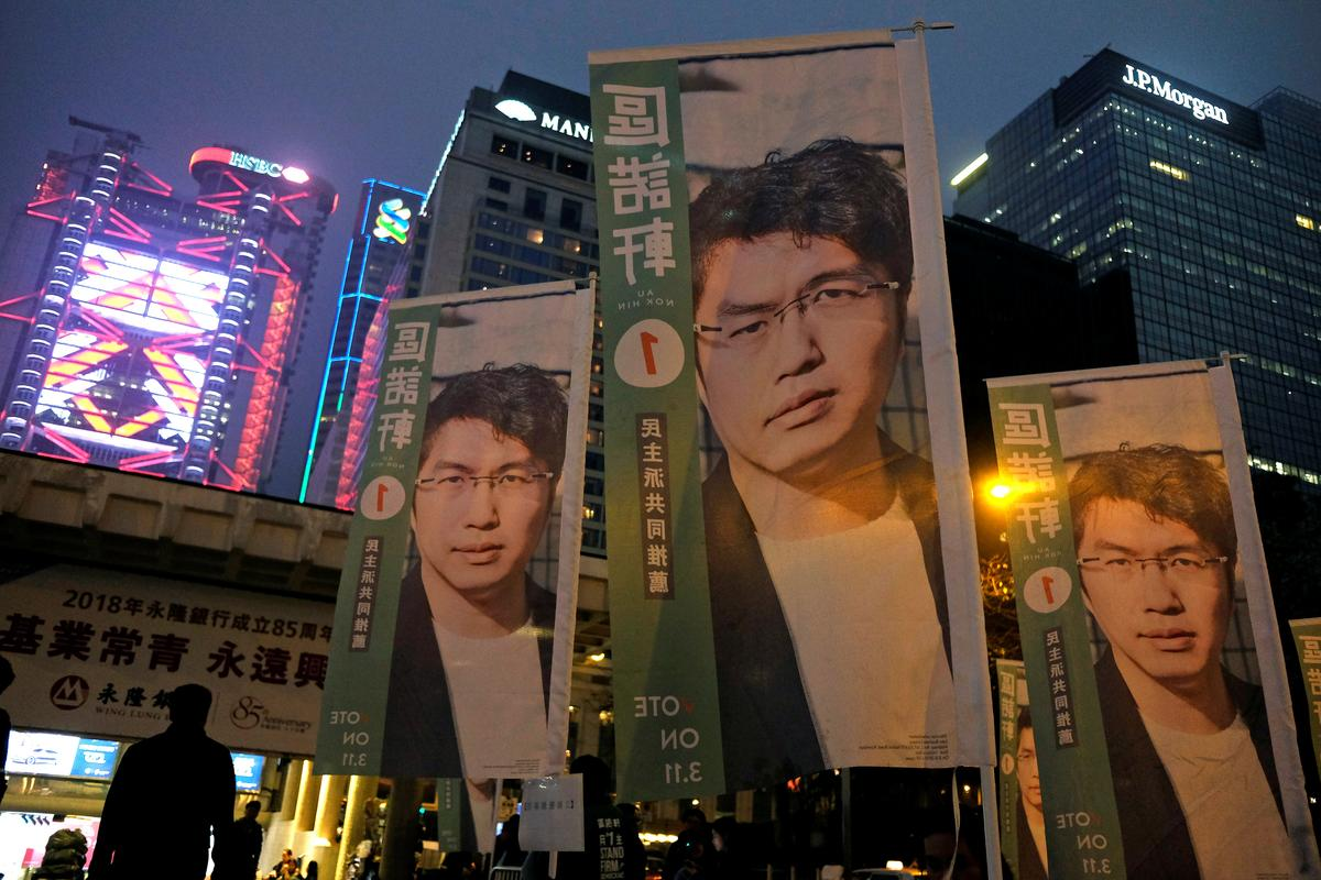 Hong Kong by-elections seen as protest vote against China control