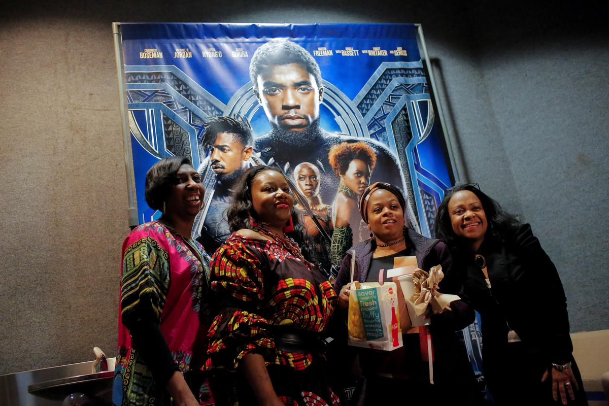 Box office 39 black panther 39 tops 39 a wrinkle in time 39 in disney dominant weekend reuters - Box office week end france ...