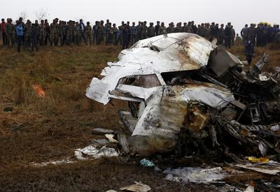 Plane crash in Nepal