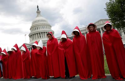 The handmaid's protest