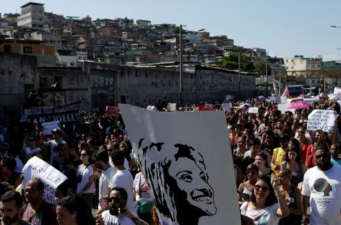 Thousands protest murder of Brazilian activist politician