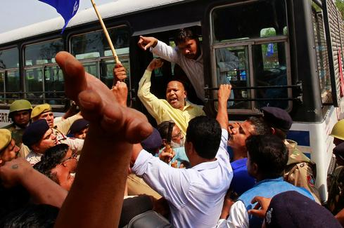 Dalit protests in India