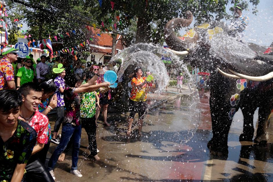 Songkran Water Fight Festival 2019