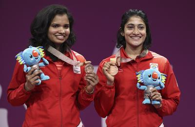 India at Commonwealth Games 2018