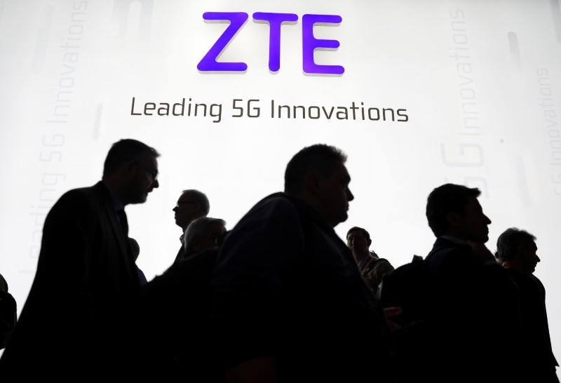 U.S. bans American companies from selling to China's ZTE