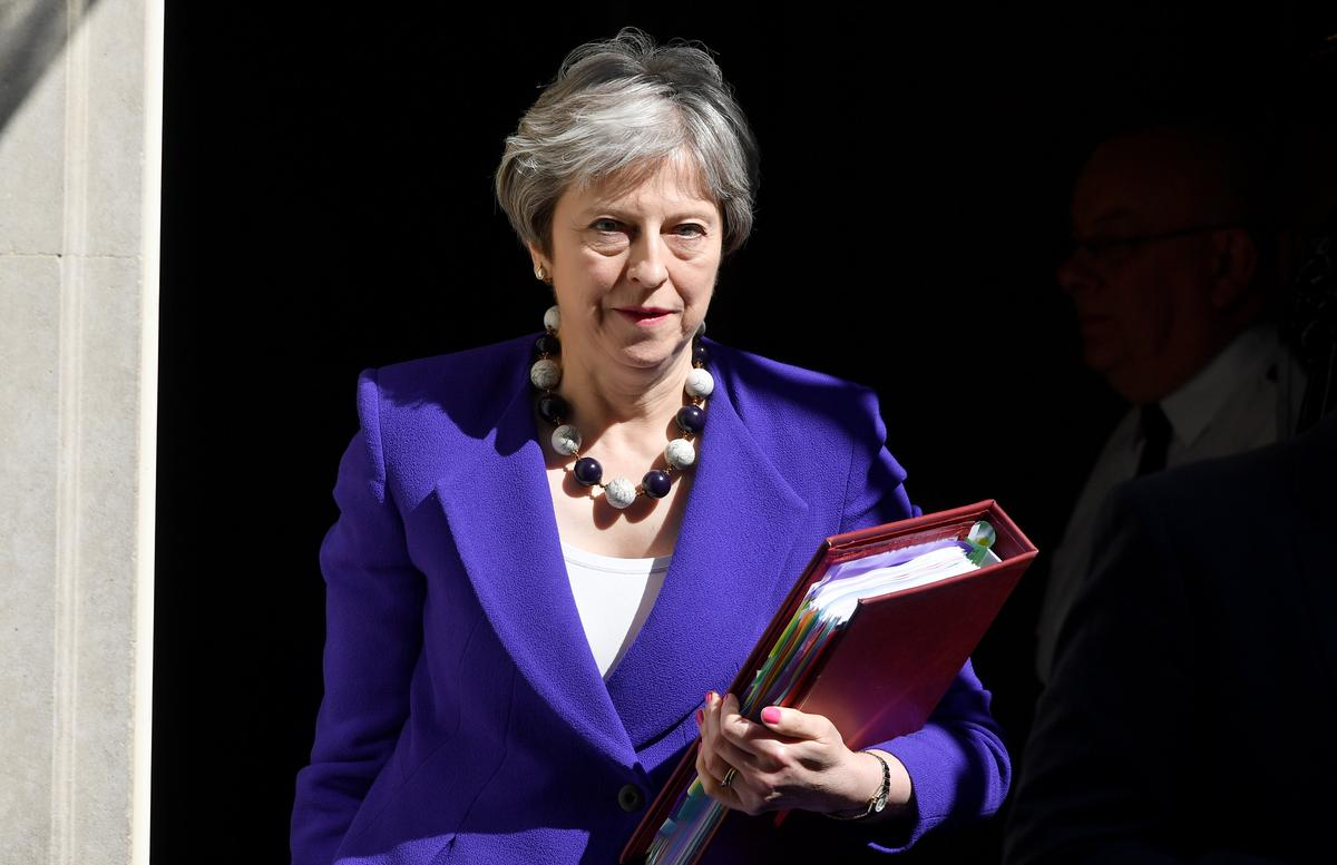 May faces embarrassing Brexit defeat in upper house - Reuters