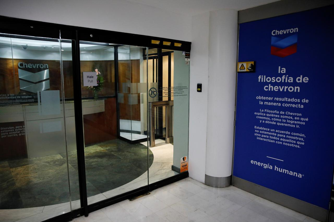 Venezuela arrests two Chevron executives amid oil purge - Reuters