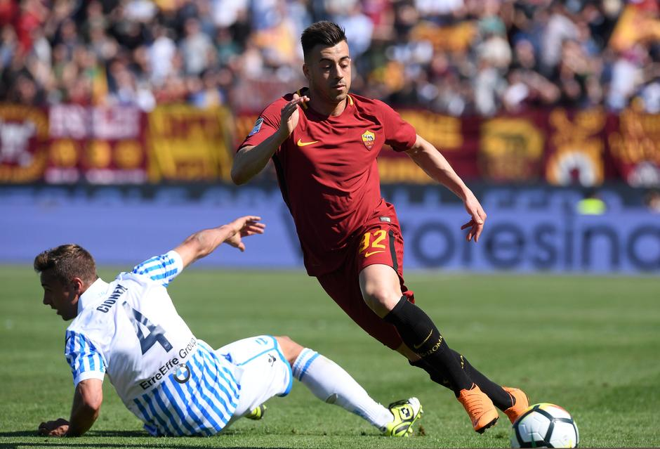 Image result for roma vs spal penalty