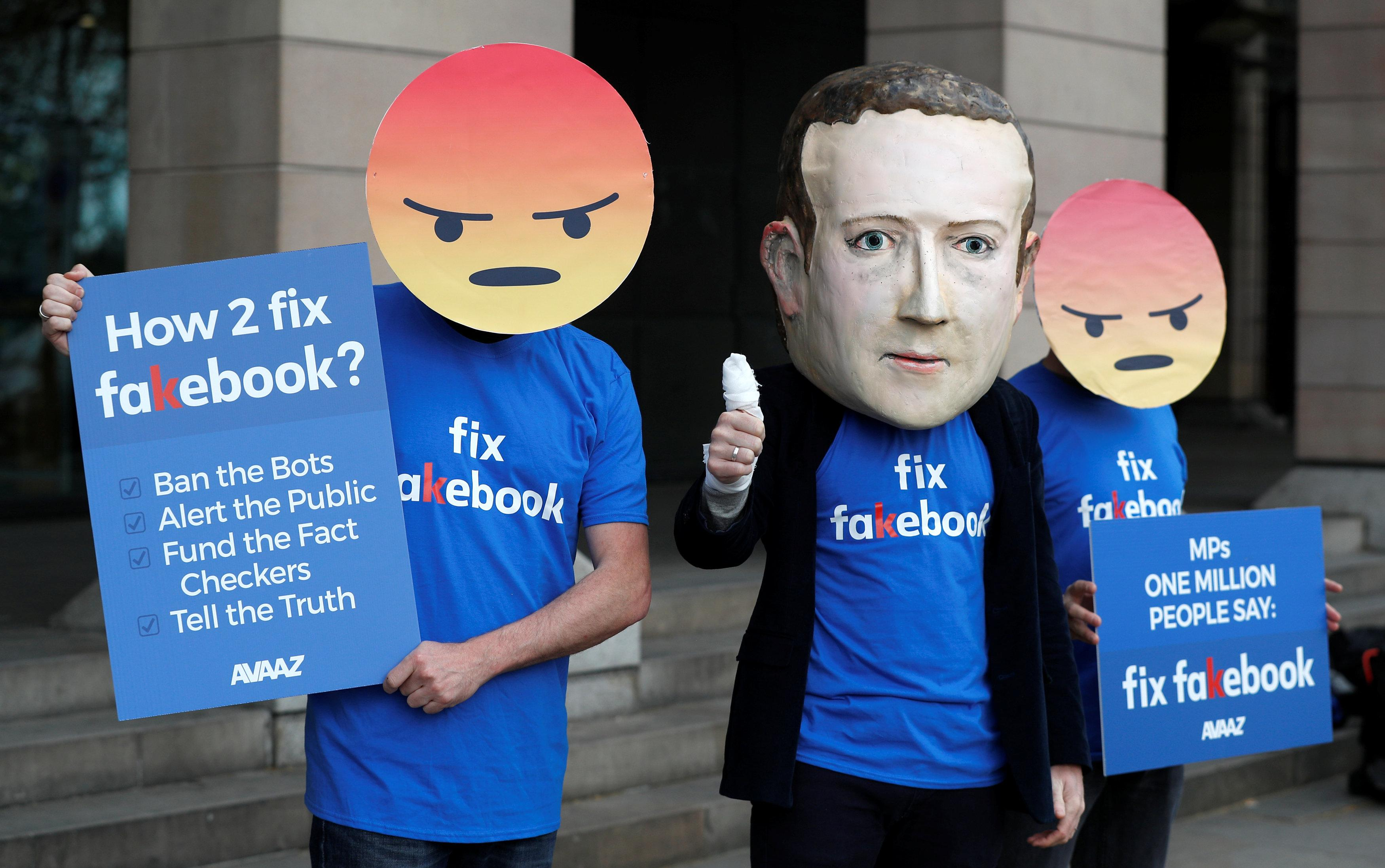 Facebook slammed by UK lawmakers as CTO promises transparency