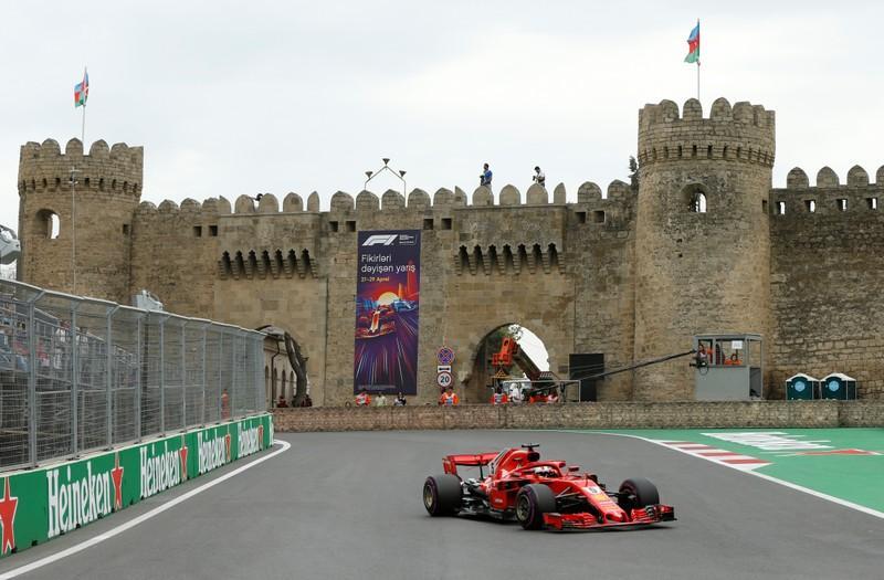 Vettel fastest in final practice in Baku | Reuters