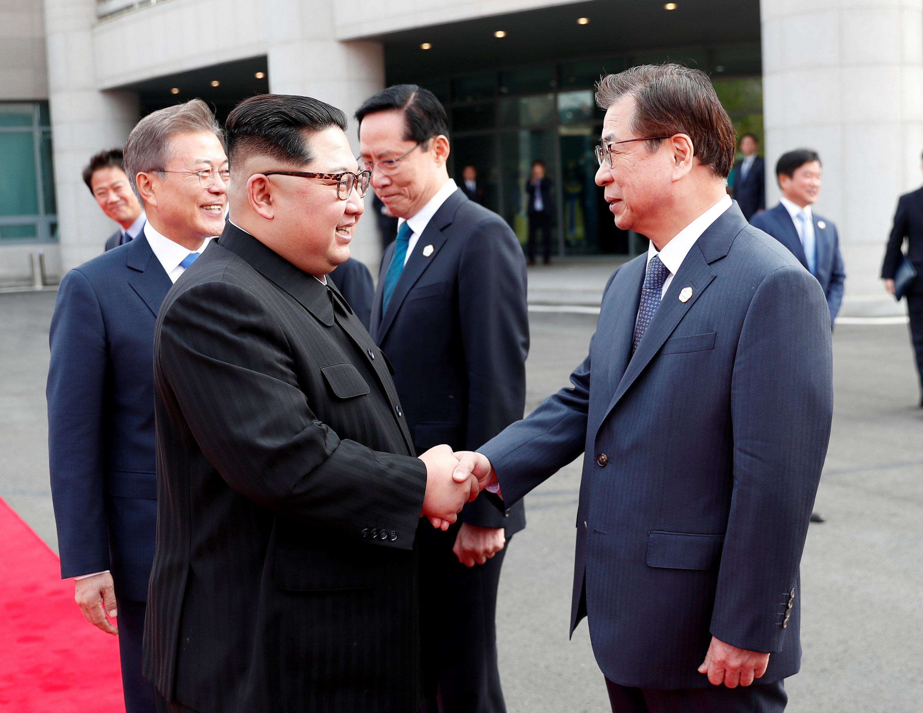 South Korea's spy chief plays key role in historic meeting