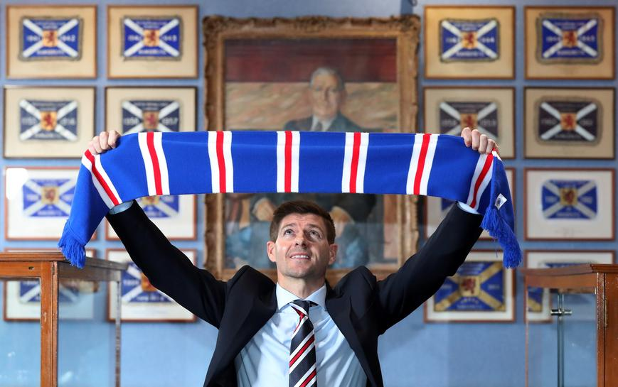 Rangers name former England captain Gerrard as manager - Reuters