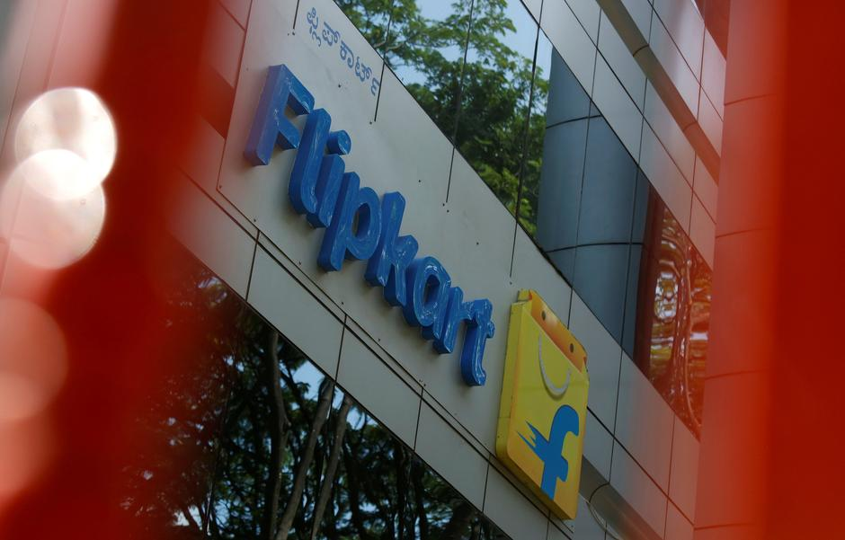 e8e4e5c486c FILE PHOTO  The logo of India s e-commerce firm Flipkart is seen on the  company s office in Bengaluru