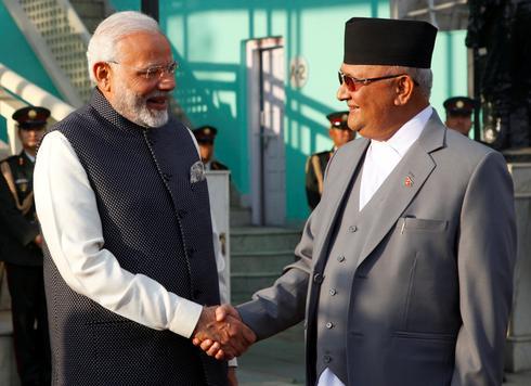 Modi visits Nepal