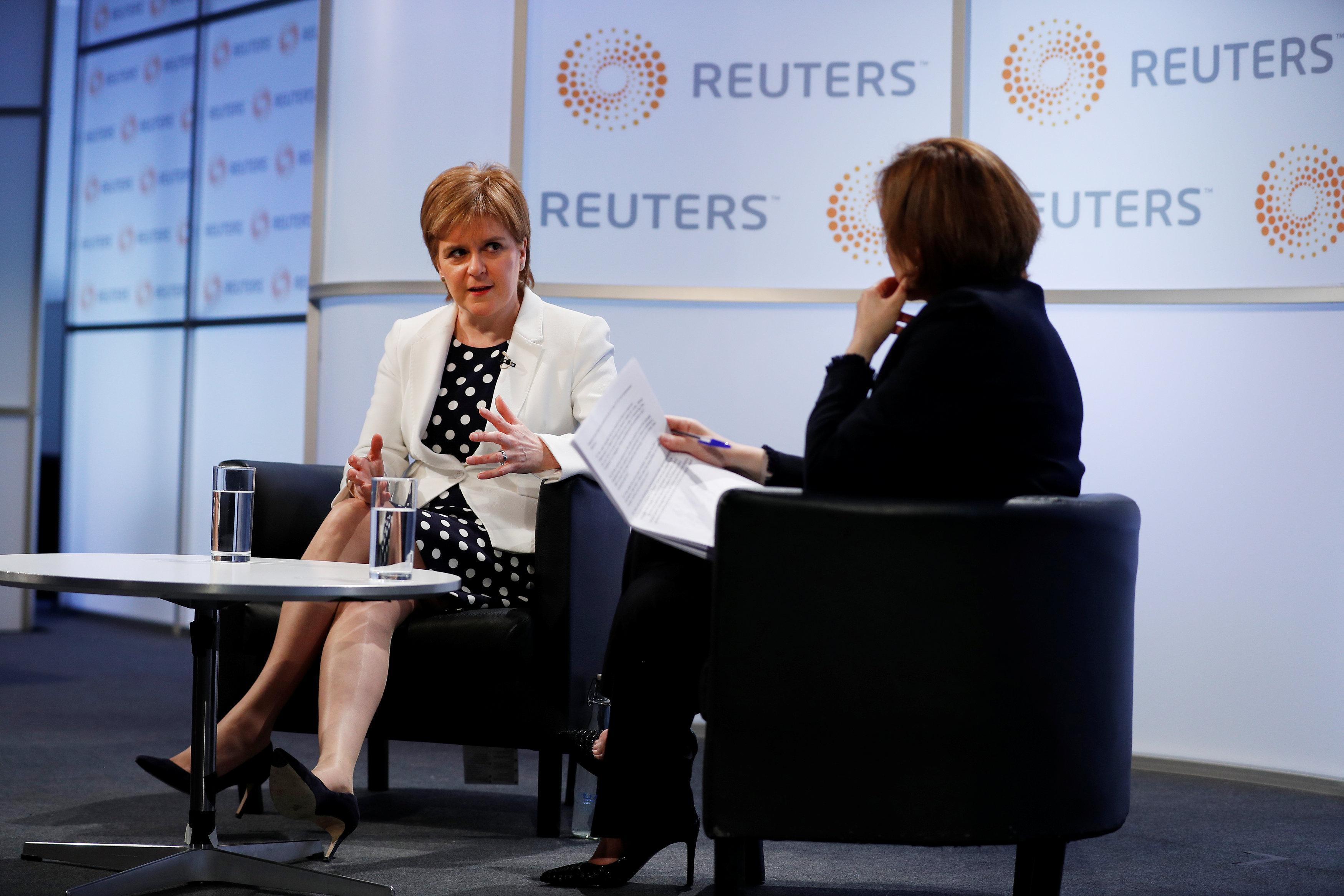 Scottish independence is never off the table, Sturgeon says