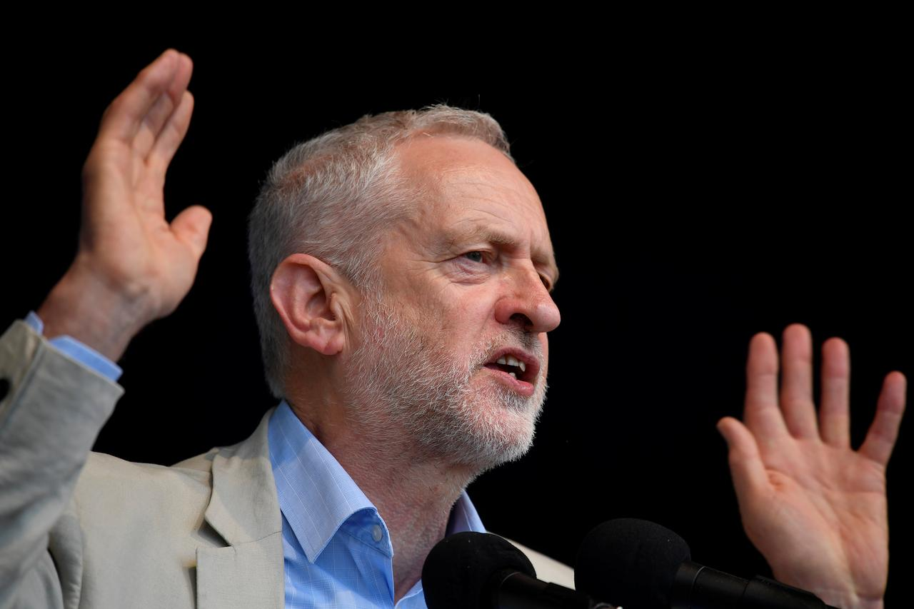 Image result for Too busy to watch? UK opposition leader Corbyn to miss royal wedding show