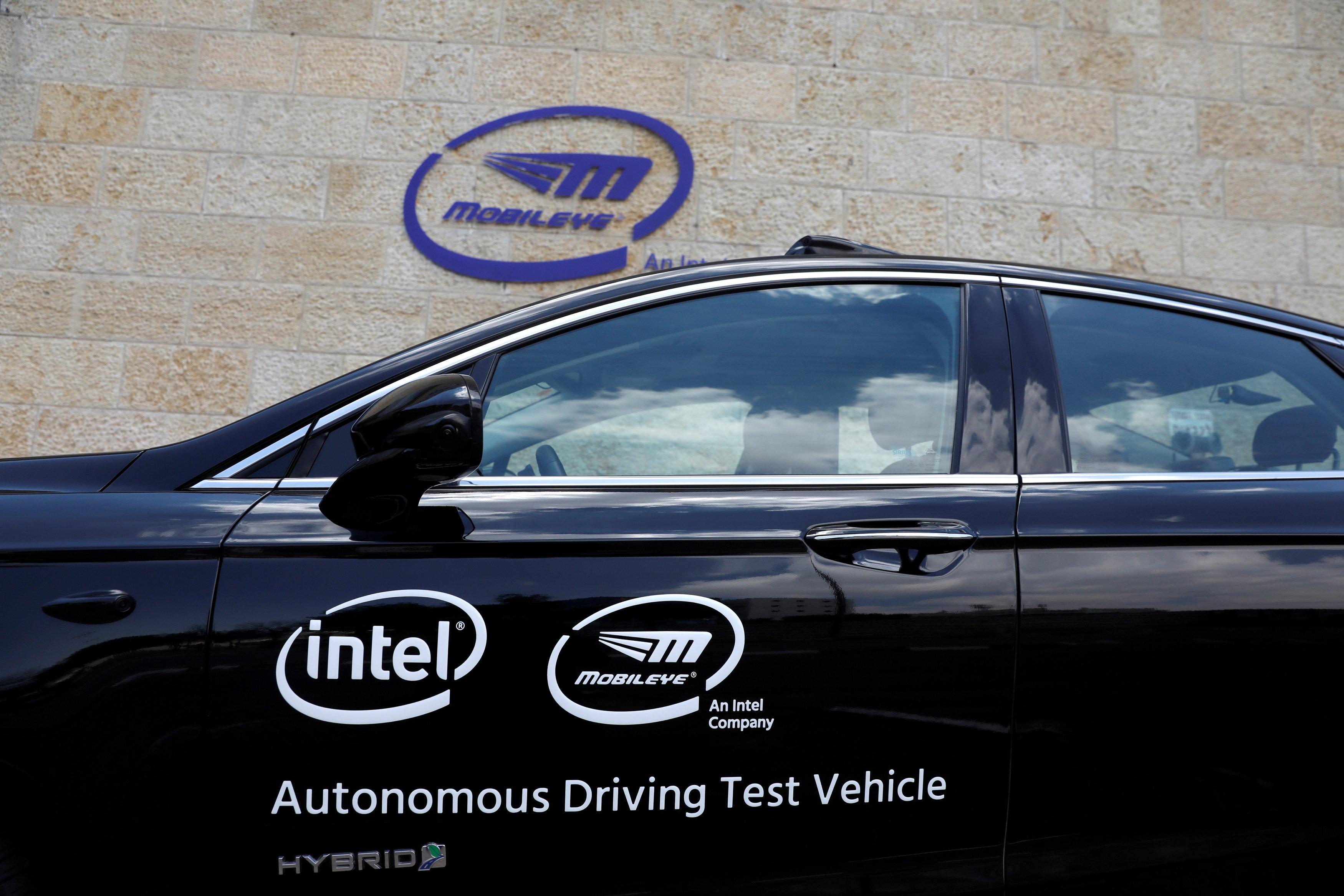Exclusive: Intel's Mobileye gets self-driving tech deal for