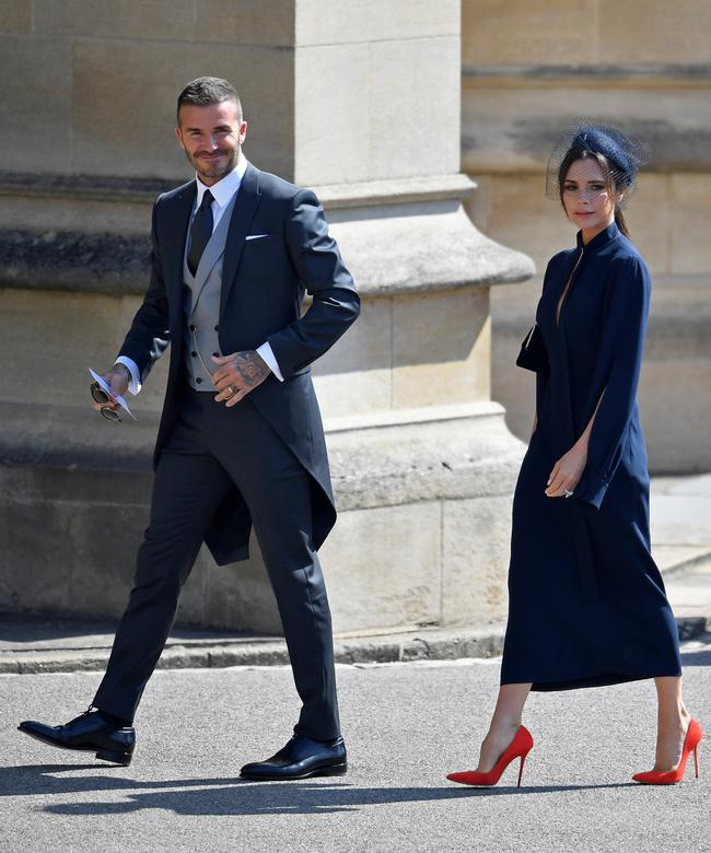 clooneys beckhams and oprah among celebrities at royal wedding reuters com clooneys beckhams and oprah among