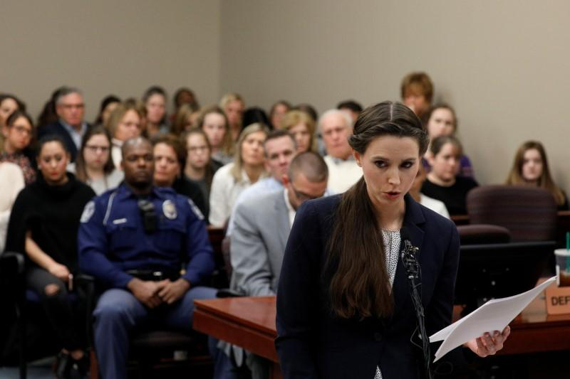 USA Gymnastics CEO Perry to apologize to Nassar victims | Reuters