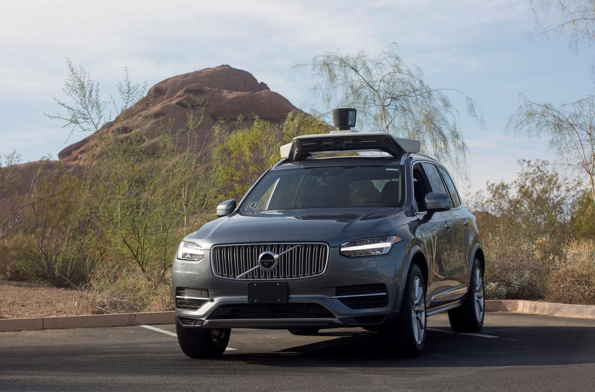 Image result for Uber ends Arizona self-driving program following fatality