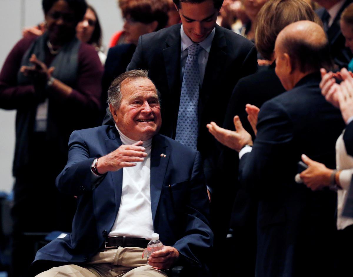 Former U.S. President George H.W. Bush taken to hospital in Maine
