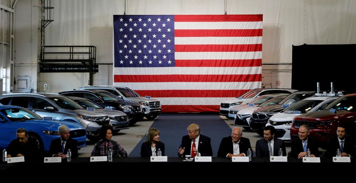 u s sets public hearings on auto import tariff probe. Black Bedroom Furniture Sets. Home Design Ideas