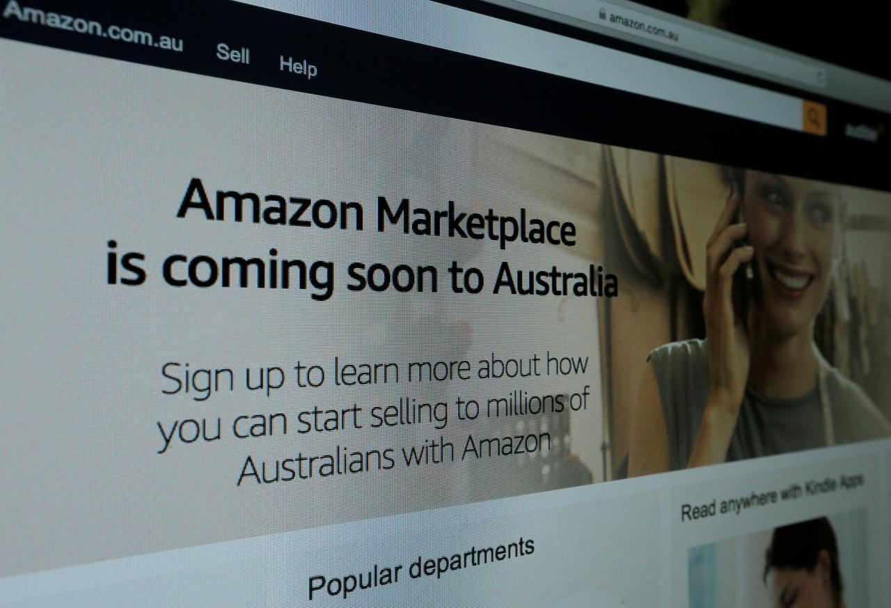 Amazon geoblocks Australia from U S  site as tax change