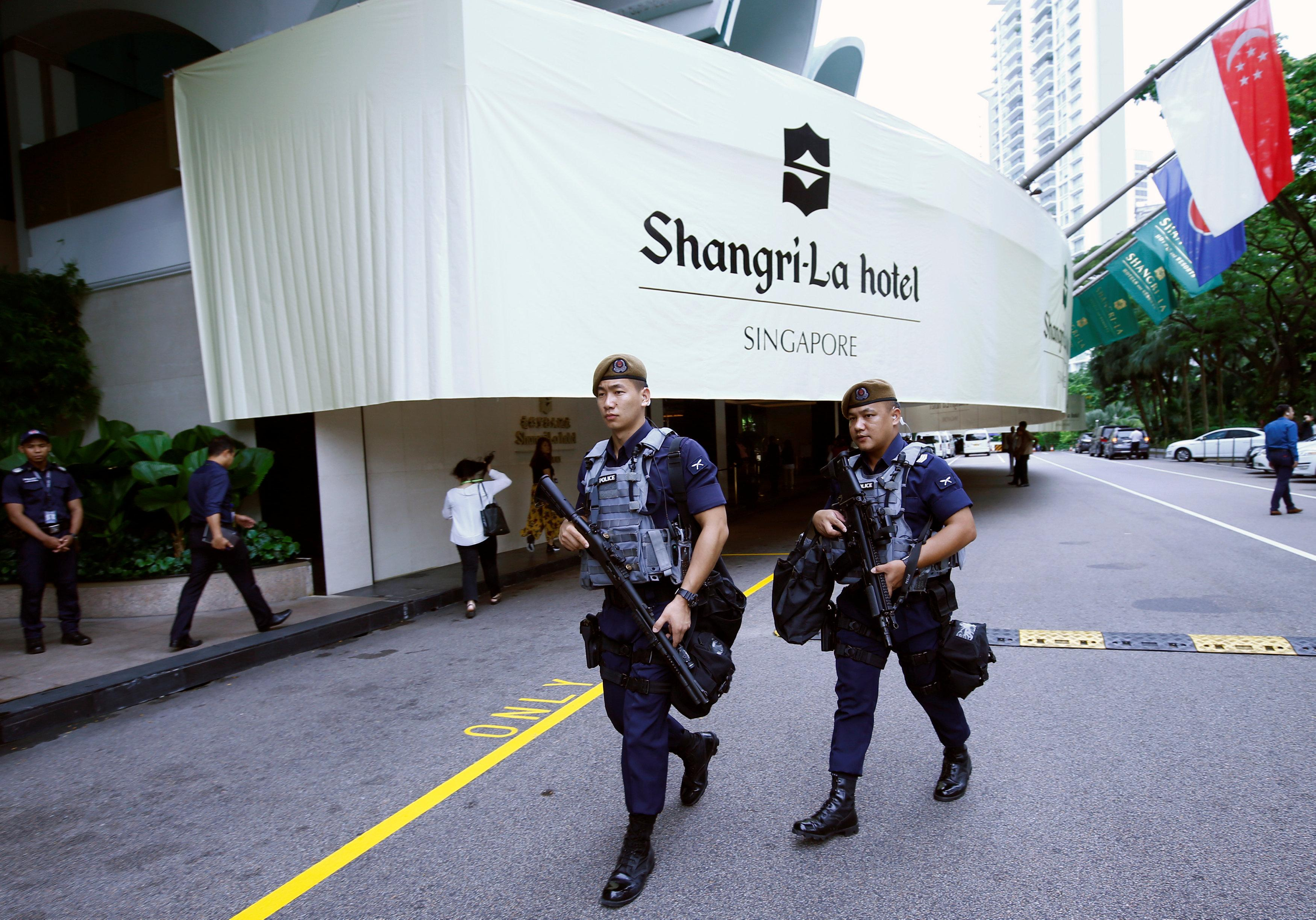 The Singapore hotel where top brass, dealers and spies rub shoulders