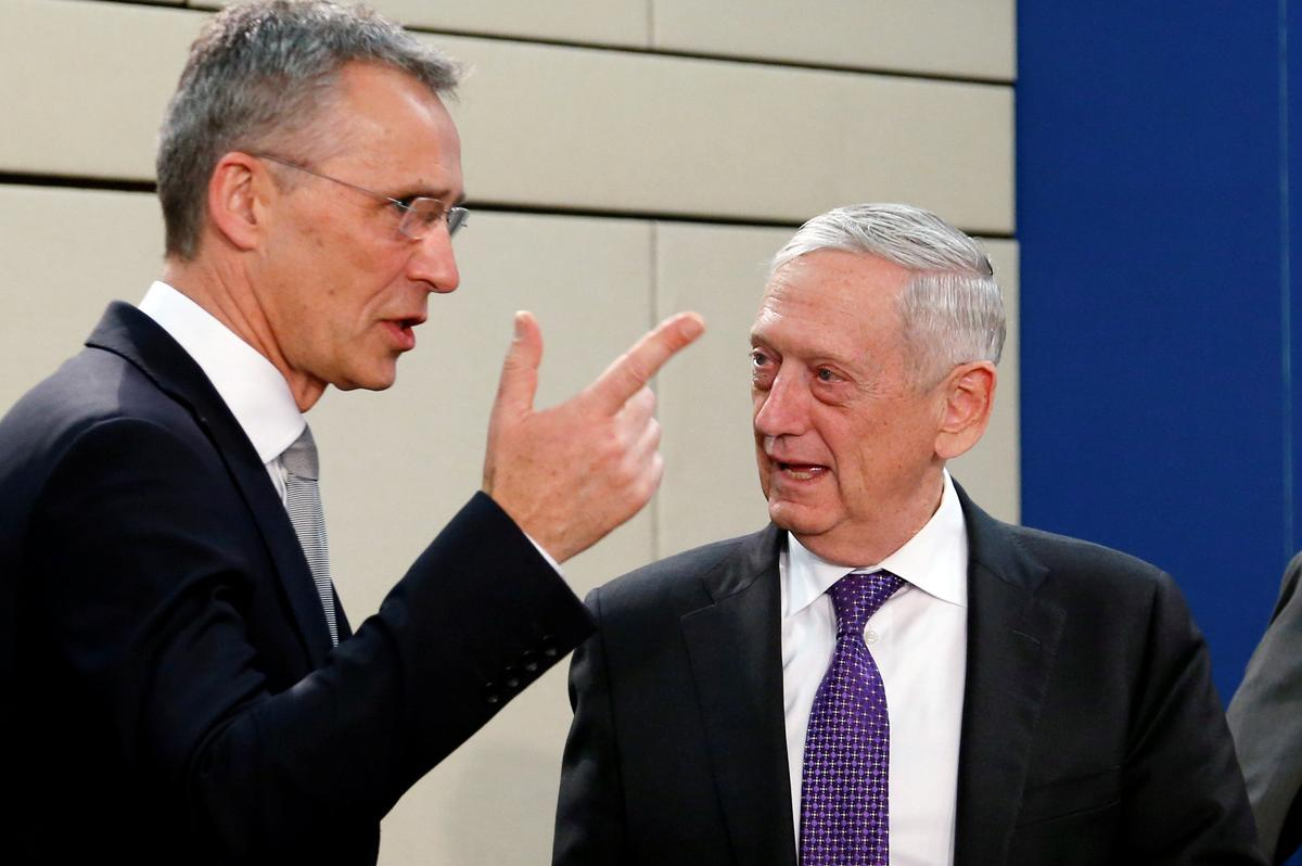 'U.S. pushes NATO to ready more forces to deter Russian threat' /