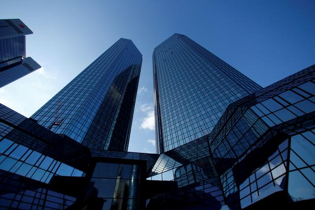 Short sellers and options traders bet on more Deutsche Bank