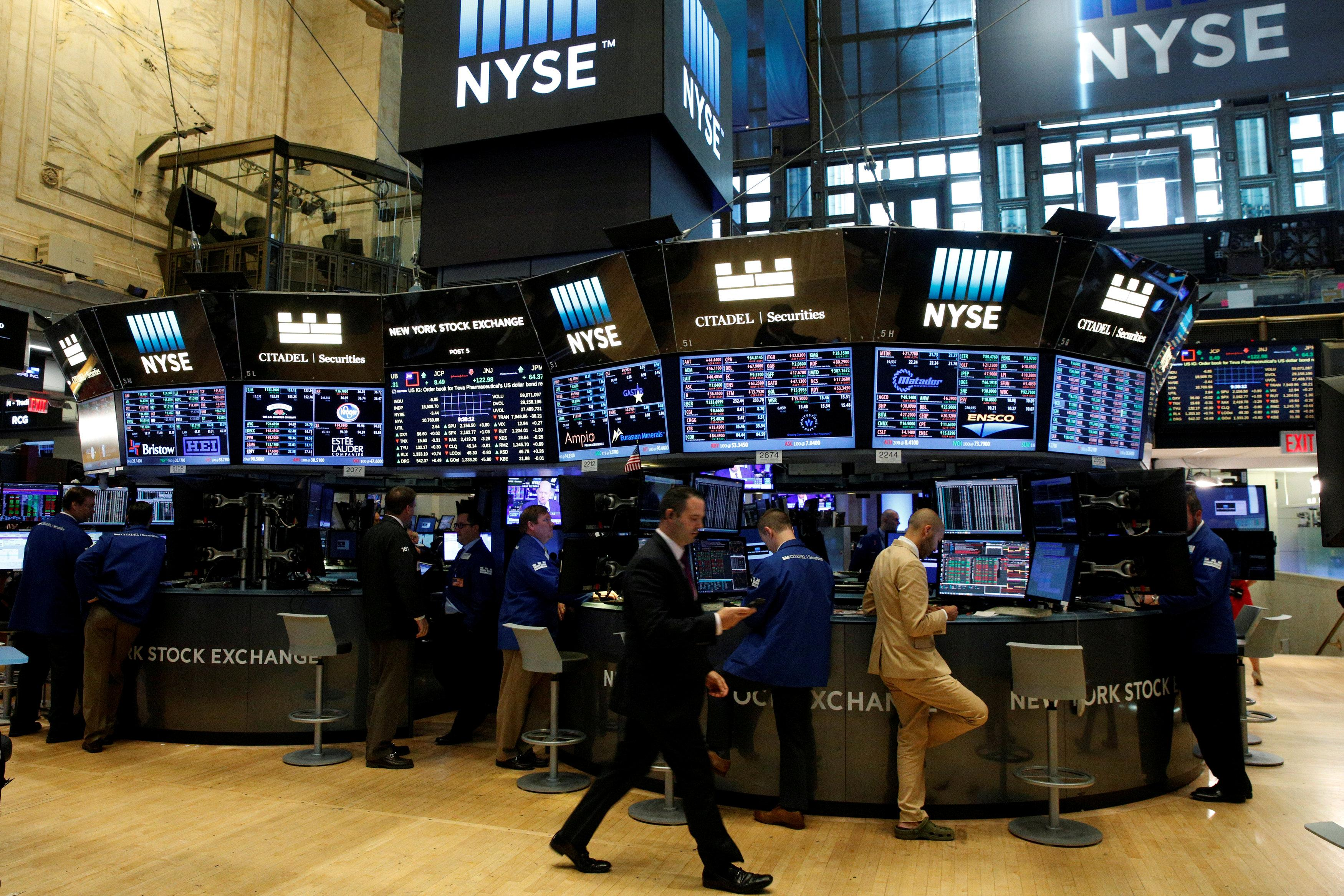 Volatility may hit Wall Street as Alphabet, Facebook leave tech...