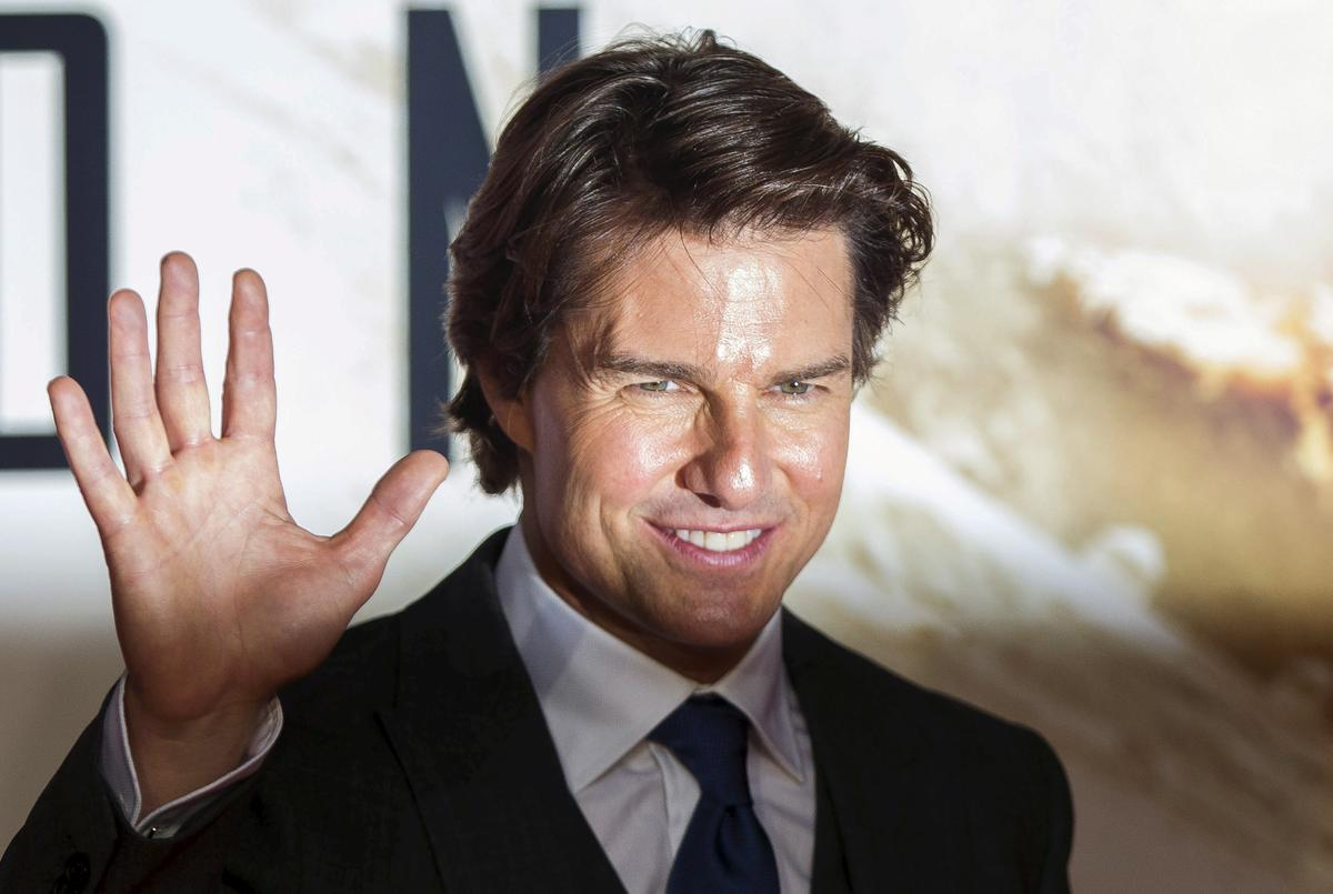 Tom Cruise makes 5-mil...