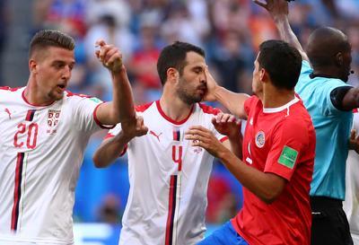 Serbia 1 - Costa Rica 0