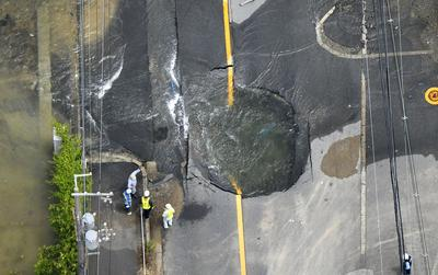 Magnitude 6.1 quake in Japan's Osaka