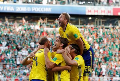 Sweden 3 - Mexico 0