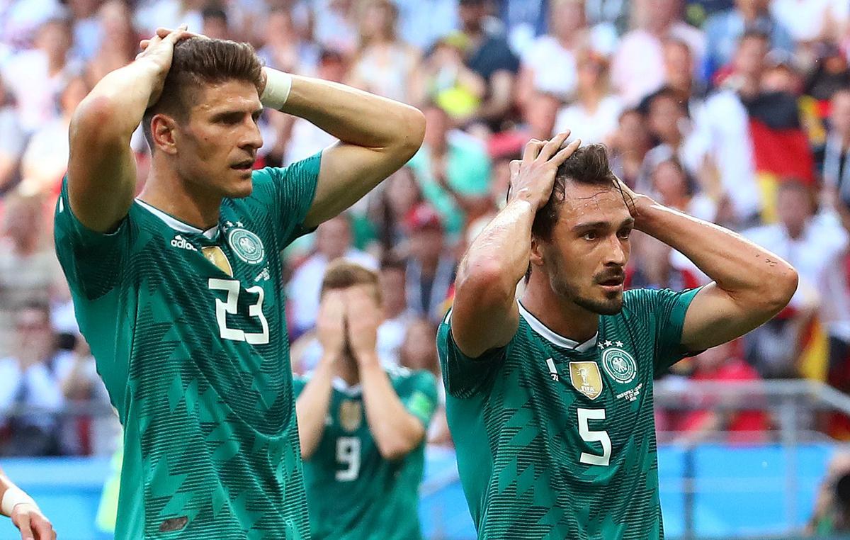 Поражение сборной Германии фото